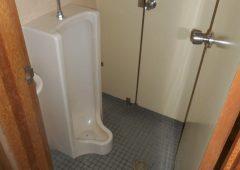 大便器と小便器が一緒になったトイレでした。