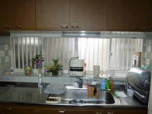 作業場所が少ないキッチン工事前