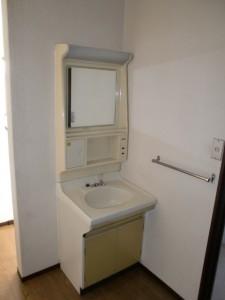 2階にある洗面スペース