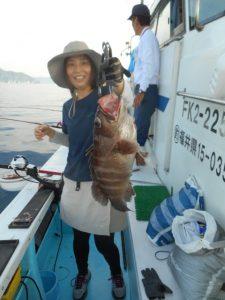 日本海でクエ