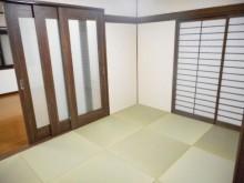 琉球畳も入れモダンに仕上げました