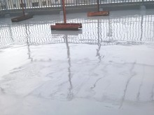 ウレタン防水工事後