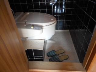 簡易洋式トイレでした