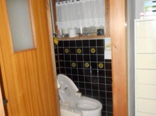 簡易洋式トイレを使用されていました