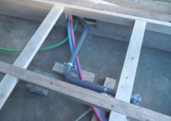 給排水管の仕込み
