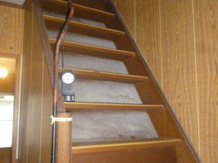 階段架け替え 施工前