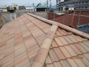 軽量瓦へ屋根工事後