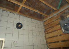 浴室リフォーム工事中