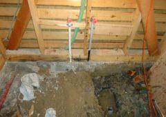 浴室リフォーム工事中2
