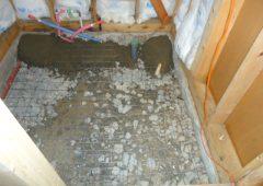 浴室リフォーム工事中3