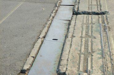 側溝改修工事 工事前
