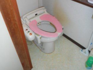 トイレ入替前