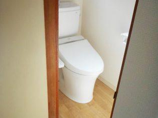 トイレ入替 工事後