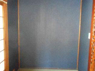 床の間の壁紙変更