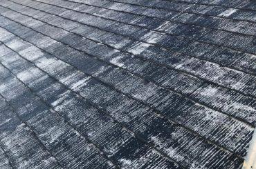 屋根塗装剥げ